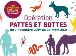 EXPOSITION : OPÉRATION PATTES ET BOTTES